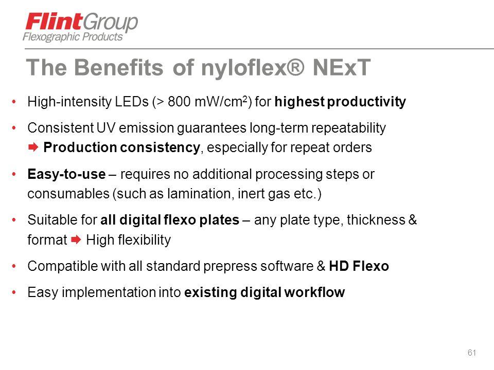The Benefits of nyloflex® NExT