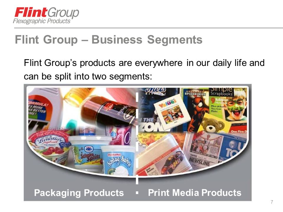 Flint Group – Business Segments