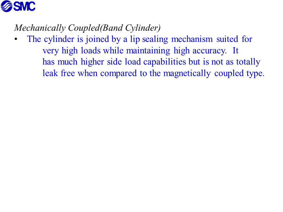 Mechanically Coupled(Band Cylinder)