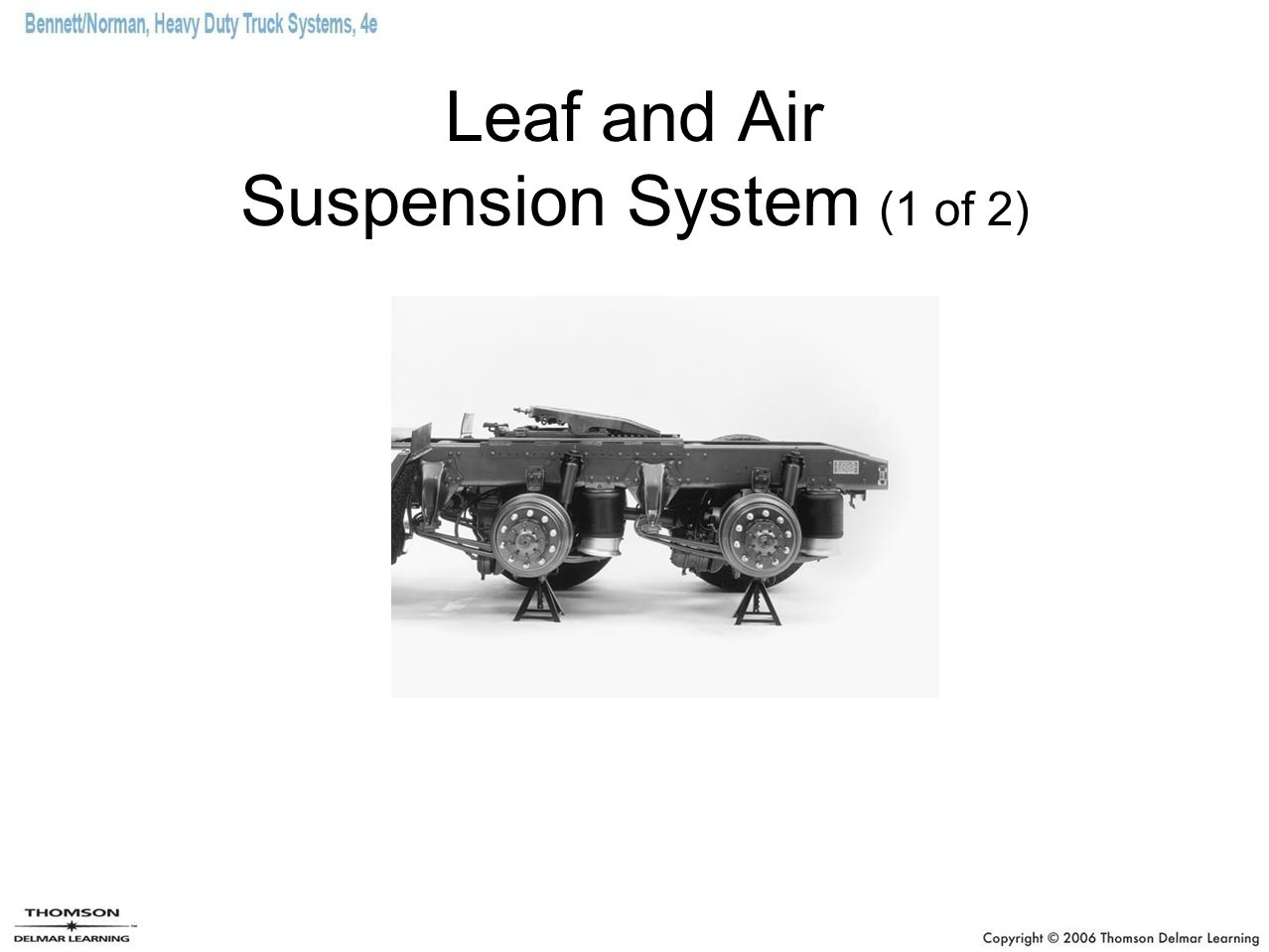 Leaf and Air Suspension System (1 of 2)
