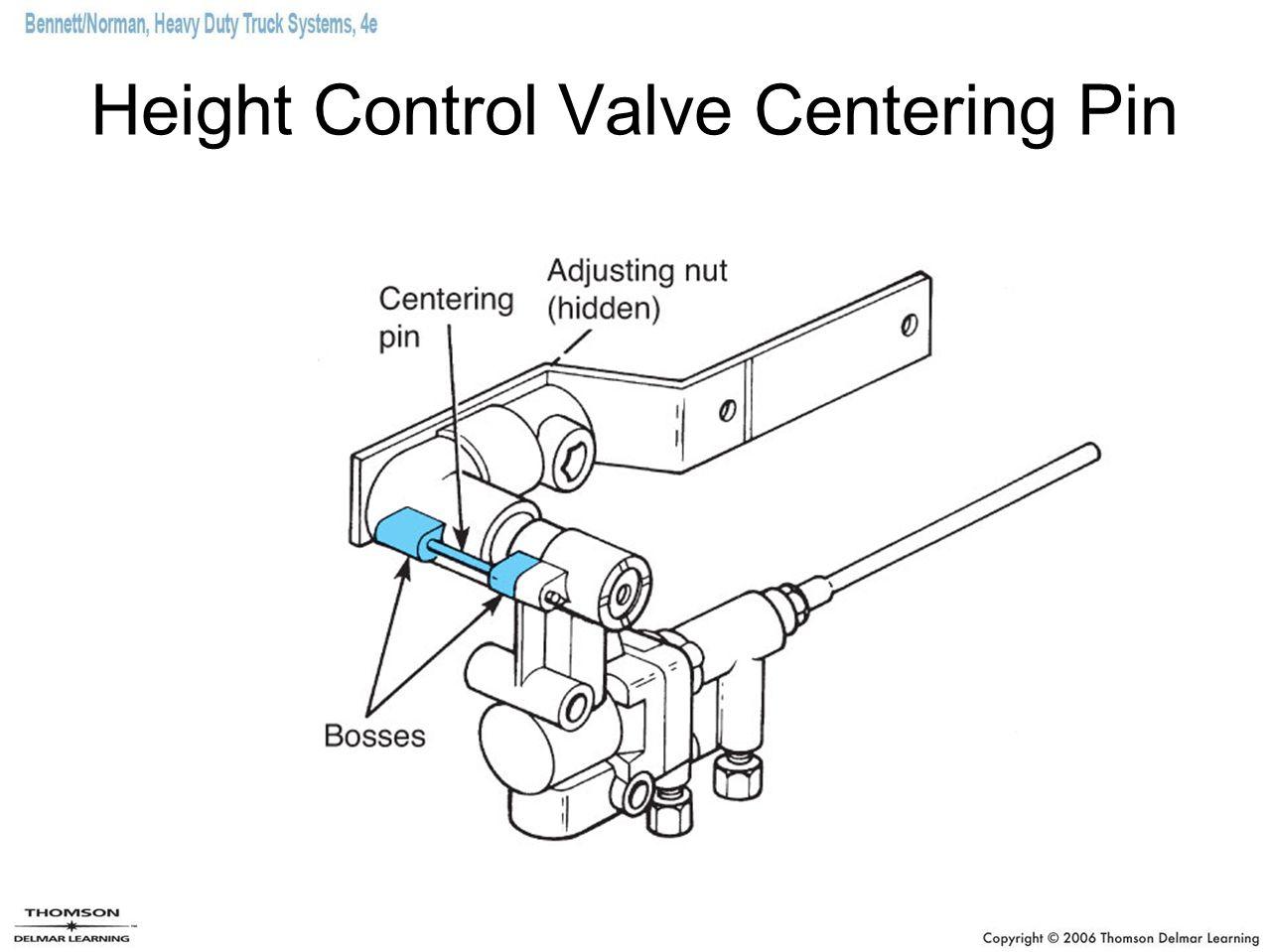 Height Control Valve Centering Pin