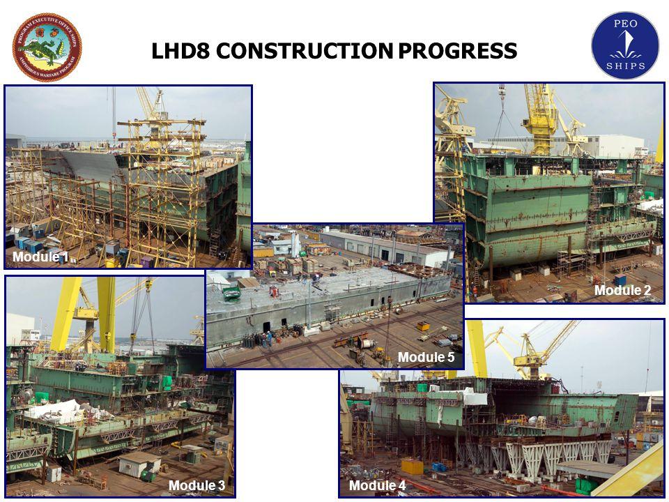 LHD8 CONSTRUCTION PROGRESS
