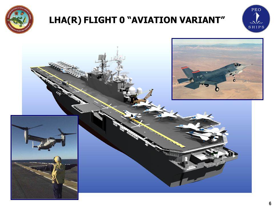 LHA(R) FLIGHT 0 AVIATION VARIANT