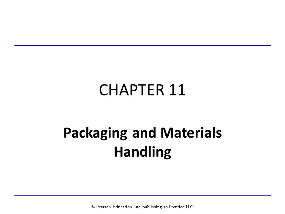 Packaging and Materials Handling