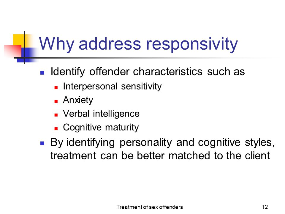 Why address responsivity
