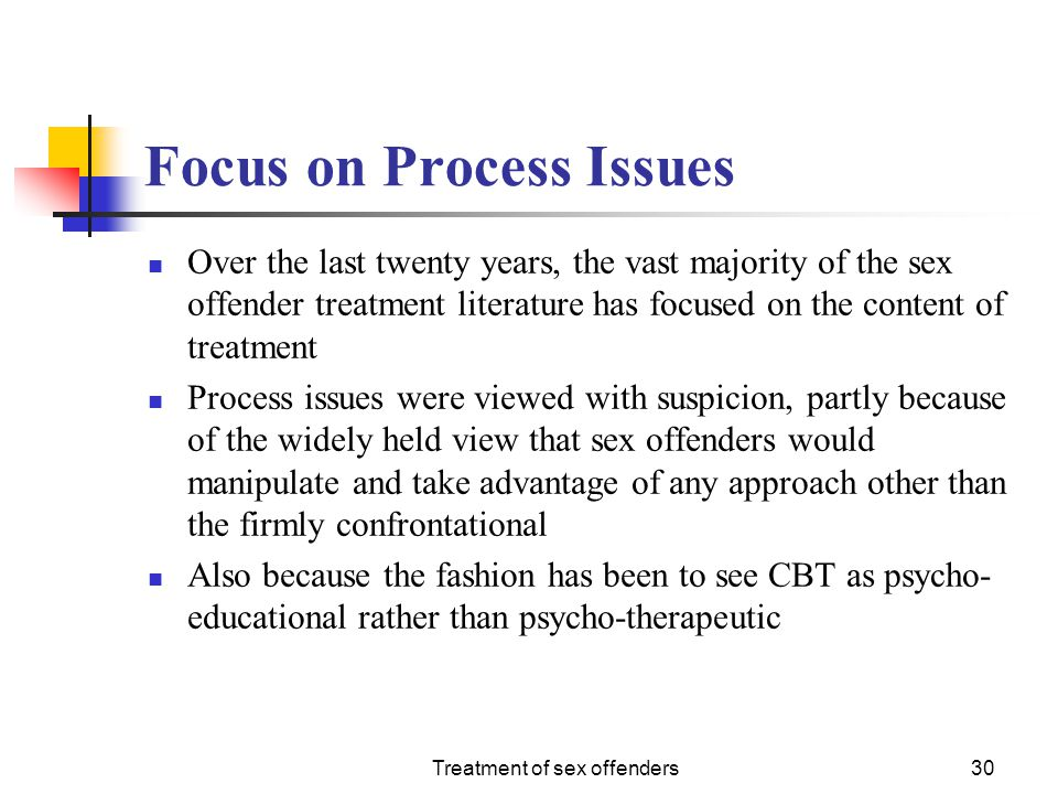 Focus on Process Issues