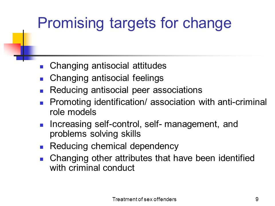 Promising targets for change