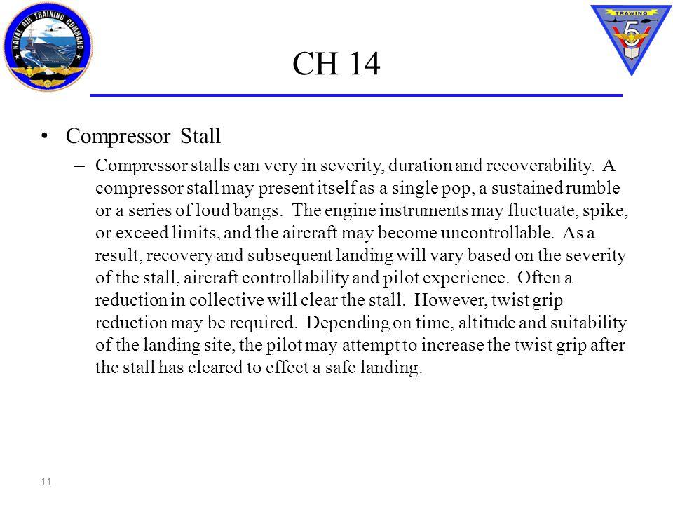 CH 14 Compressor Stall.