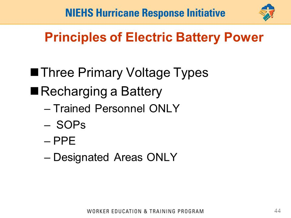 Principles of Electric Battery Power