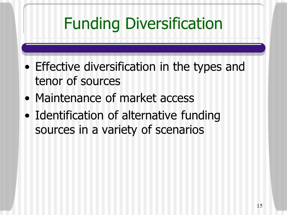 Funding Diversification