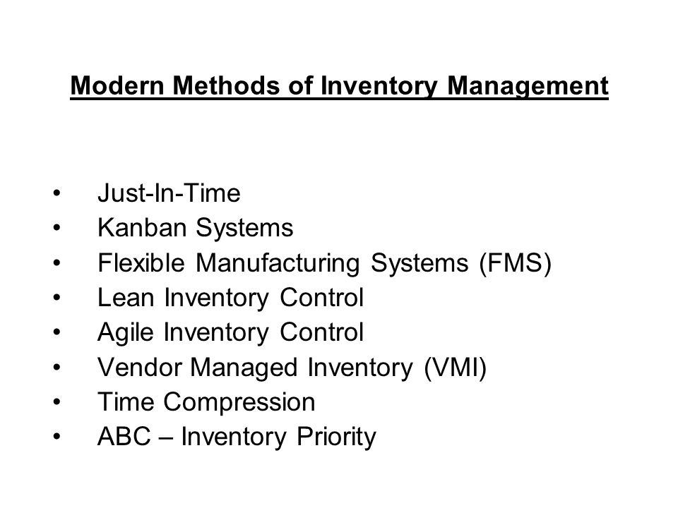 Inventory Management Ppt Video Online Download