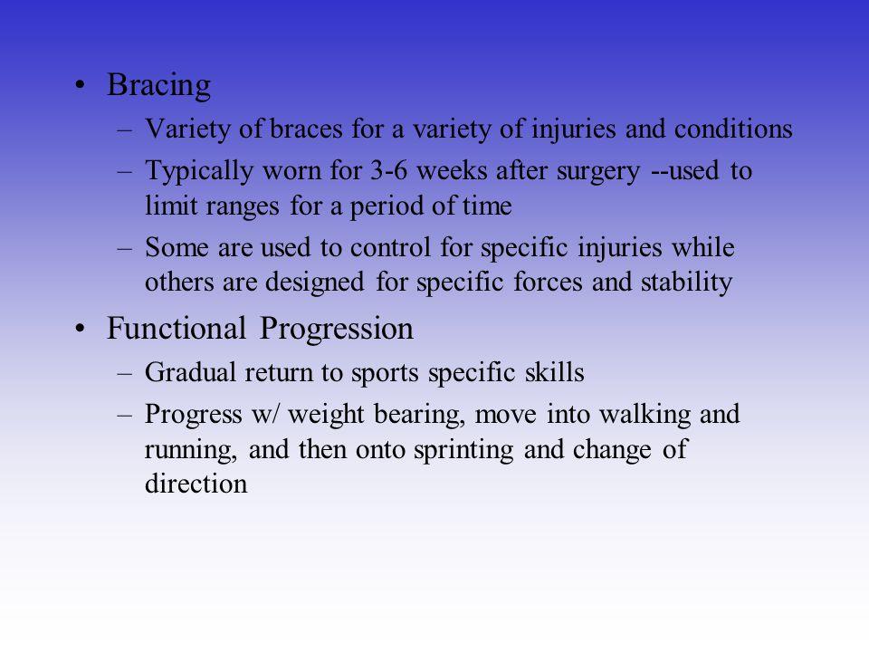Functional Progression