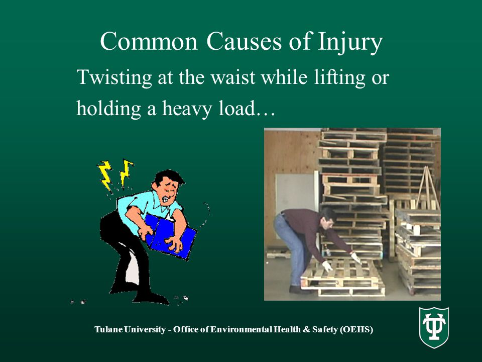 Common Causes of Injury