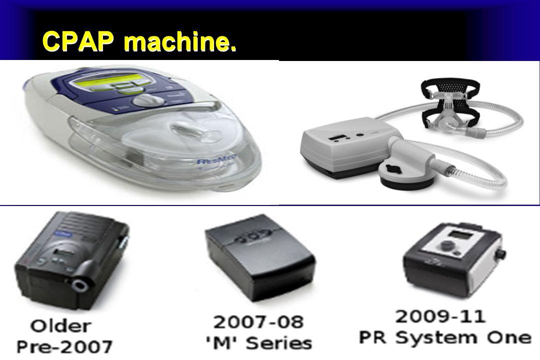 CPAP machine.