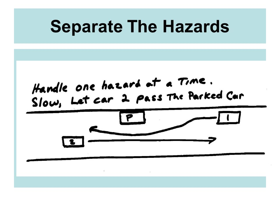 Separate The Hazards