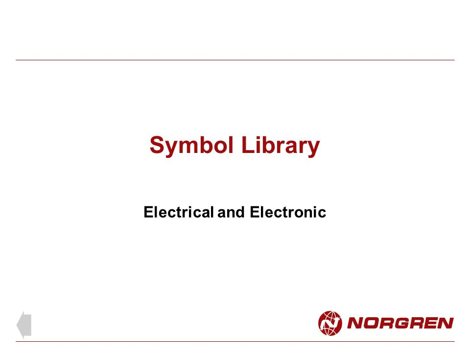 Electrical and Electronic