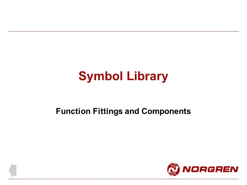 Function Fittings and Components