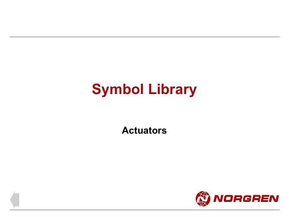 Symbol Library Actuators