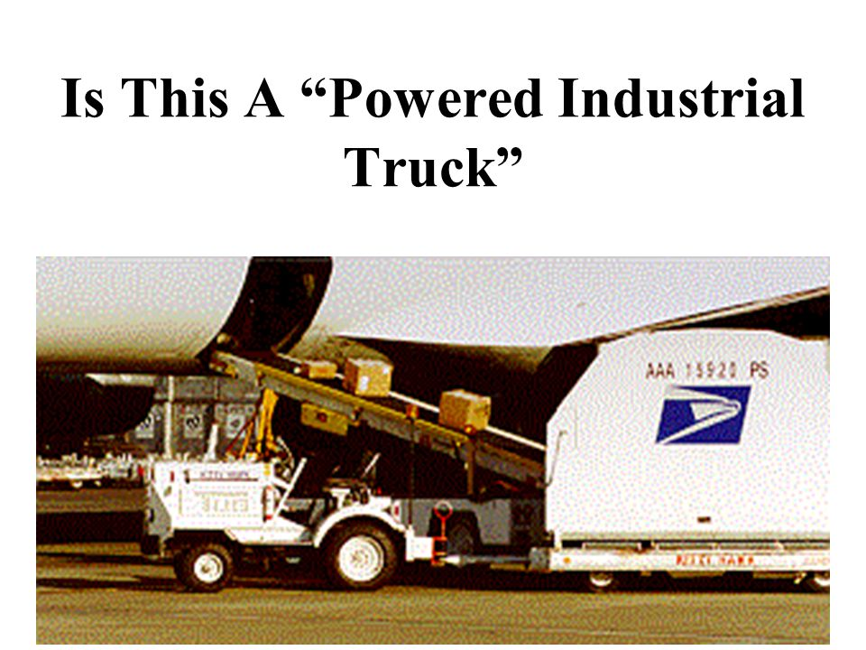 Is This A Powered Industrial Truck