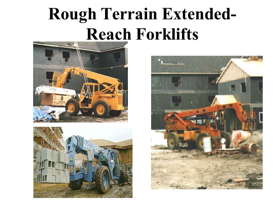 Rough Terrain Extended-Reach Forklifts