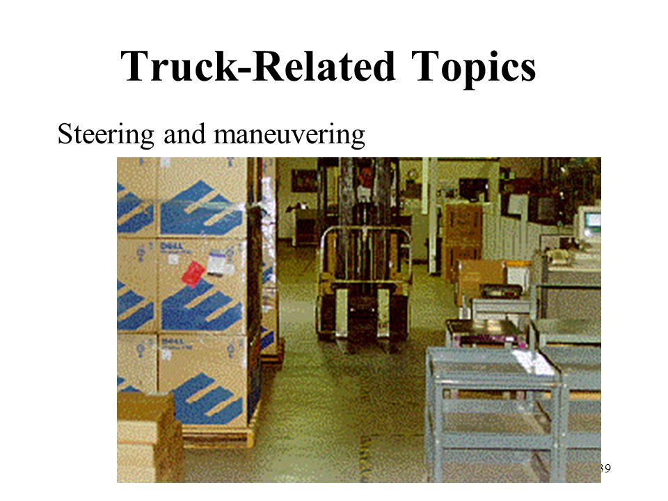 Truck-Related Topics Steering and maneuvering