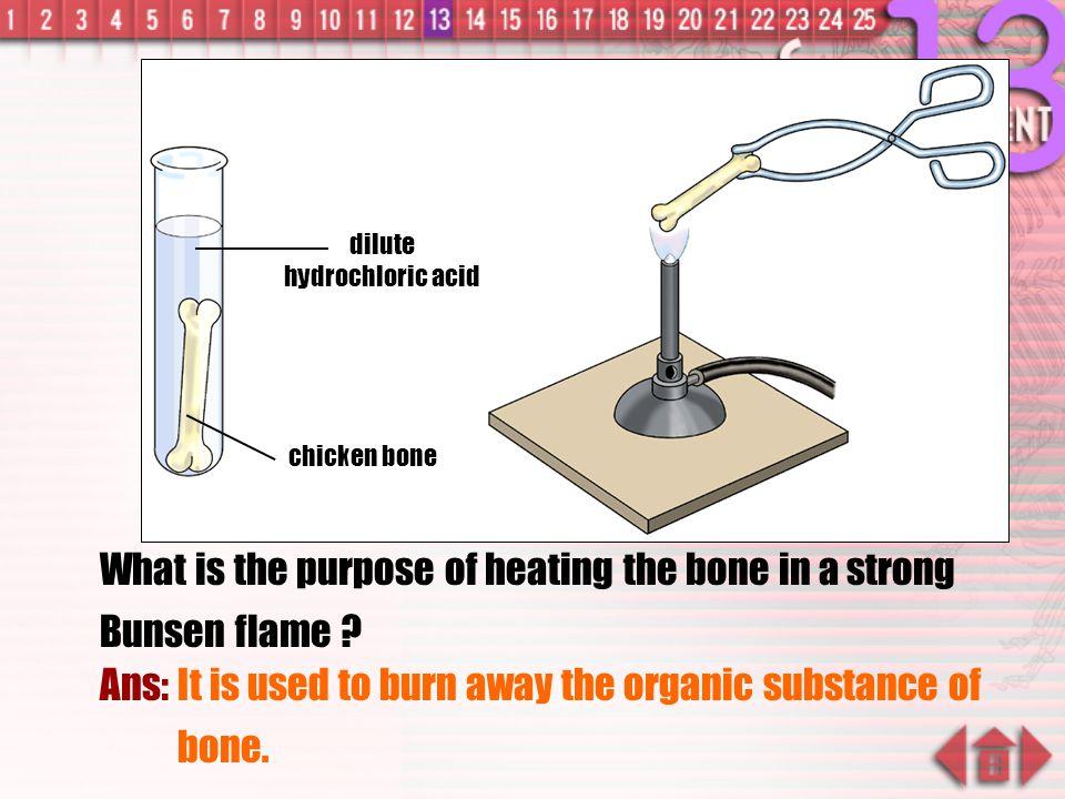 dilute hydrochloric acid