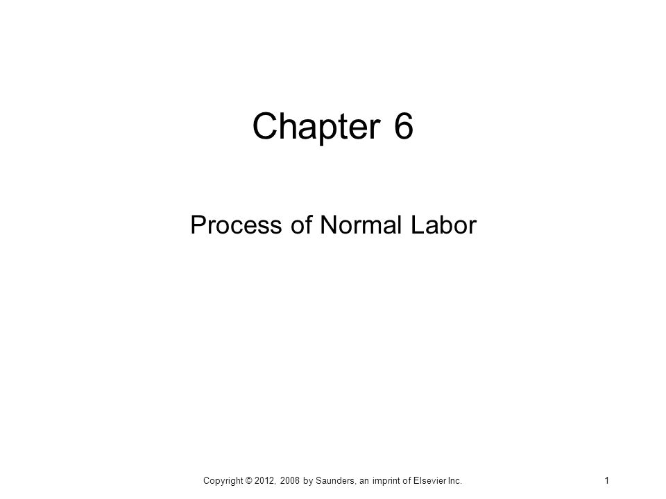 Process of Normal Labor
