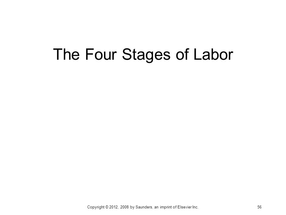 The Four Stages of Labor