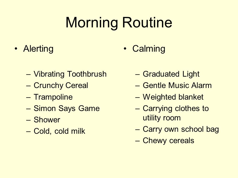 Morning Routine Alerting Calming Vibrating Toothbrush Crunchy Cereal