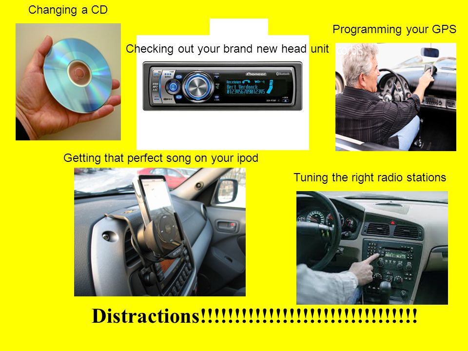 Distractions!!!!!!!!!!!!!!!!!!!!!!!!!!!!!!!! Changing a CD