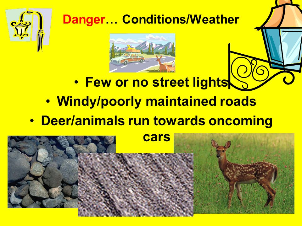 Danger… Conditions/Weather