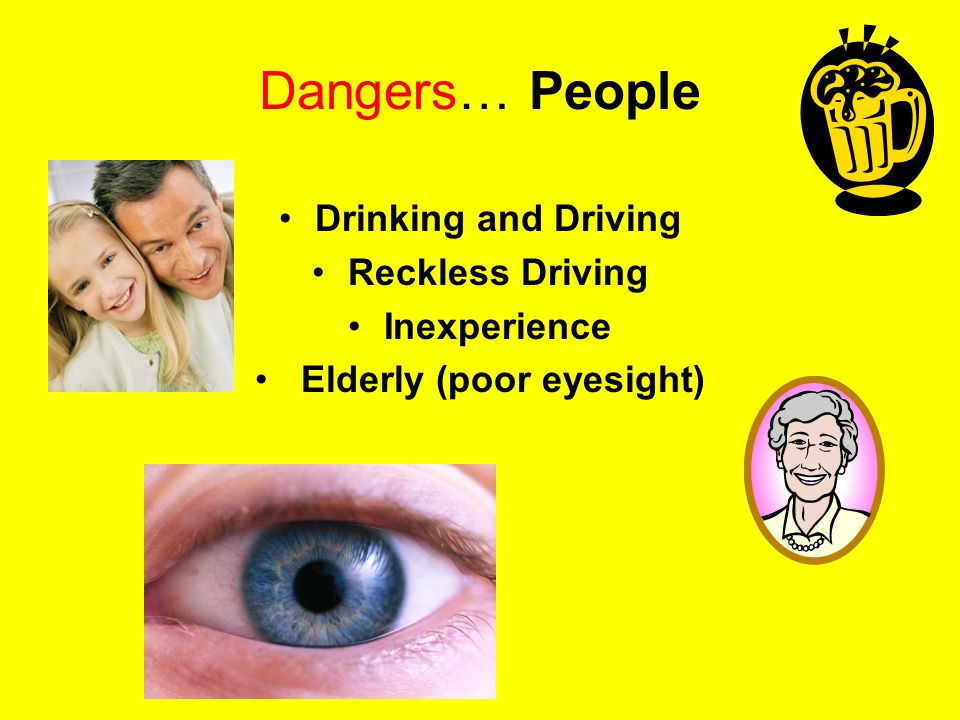 Elderly (poor eyesight)