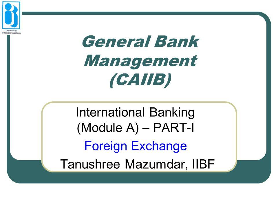 General Bank Management (CAIIB)