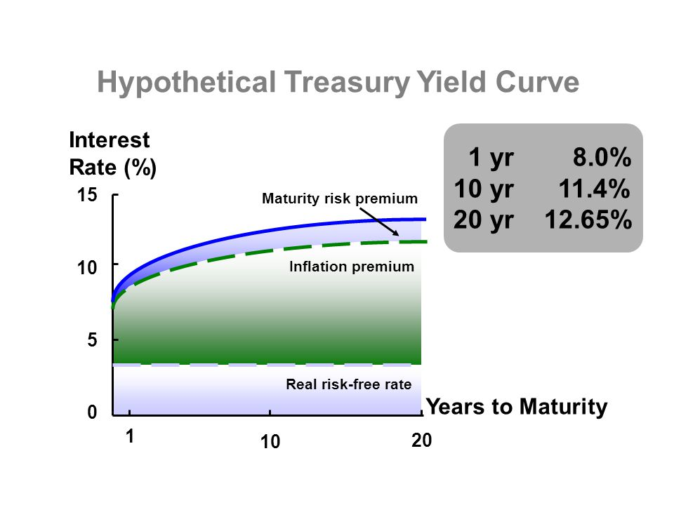 Hypothetical Treasury Yield Curve