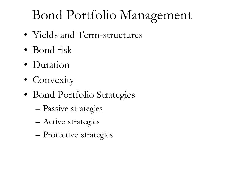 how to find the convexity of a bond portfolio