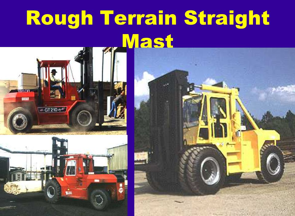 Rough Terrain Straight Mast