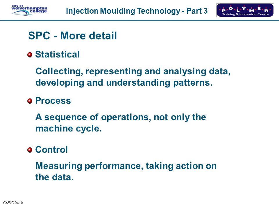 SPC - More detail Statistical