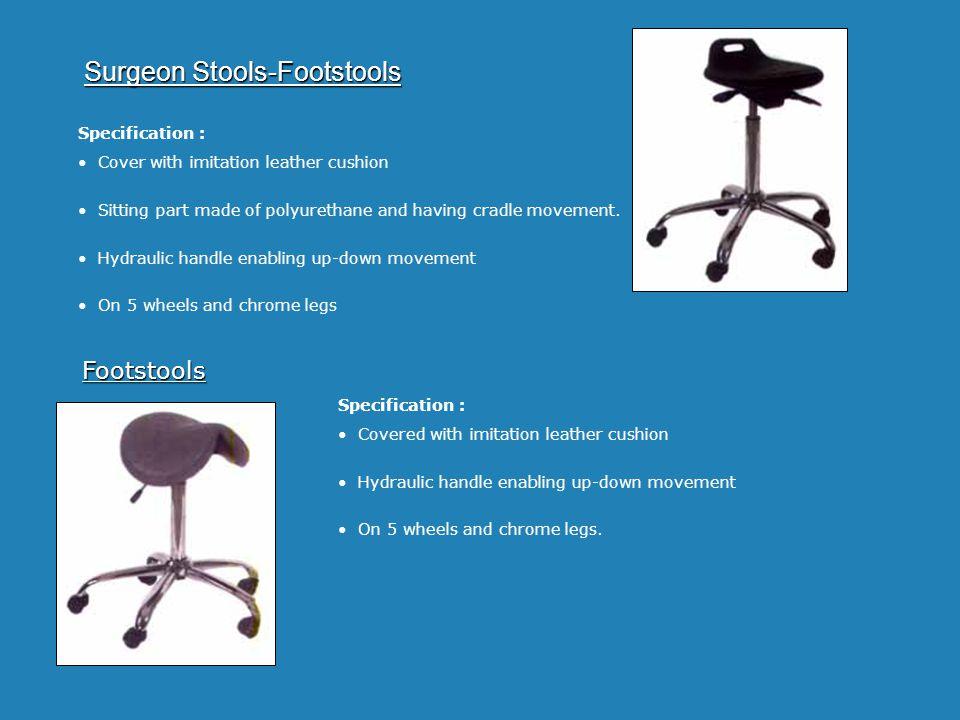 Surgeon Stools-Footstools