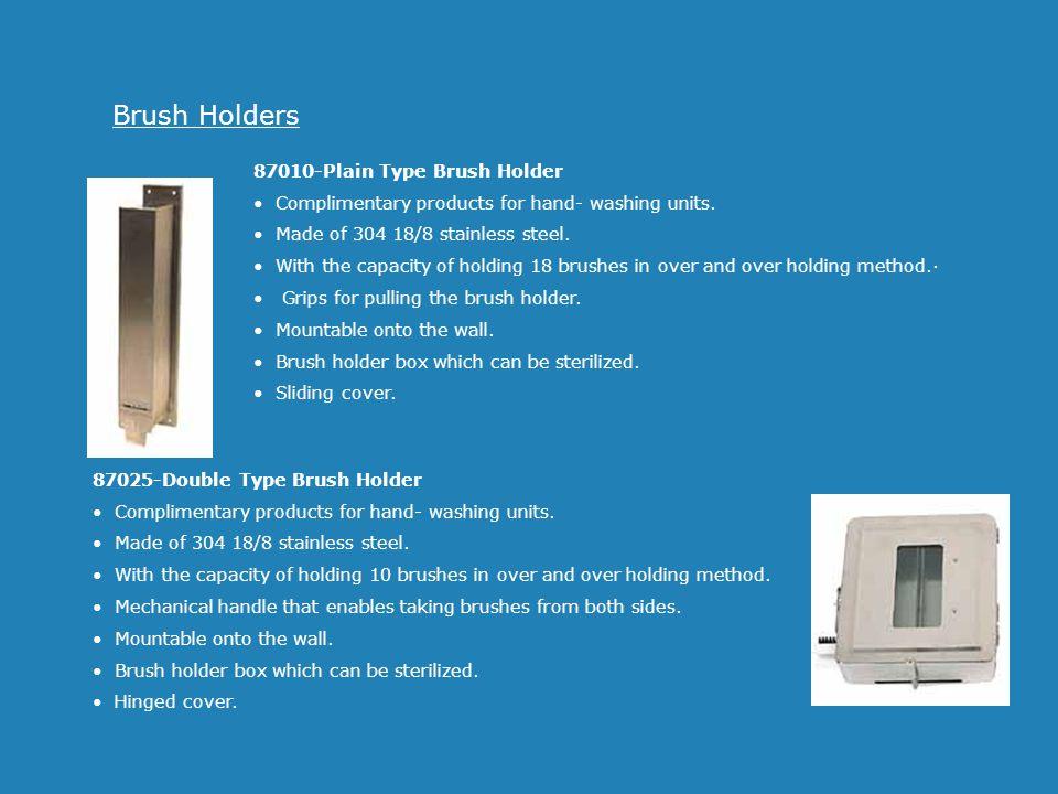 Brush Holders 87010-Plain Type Brush Holder