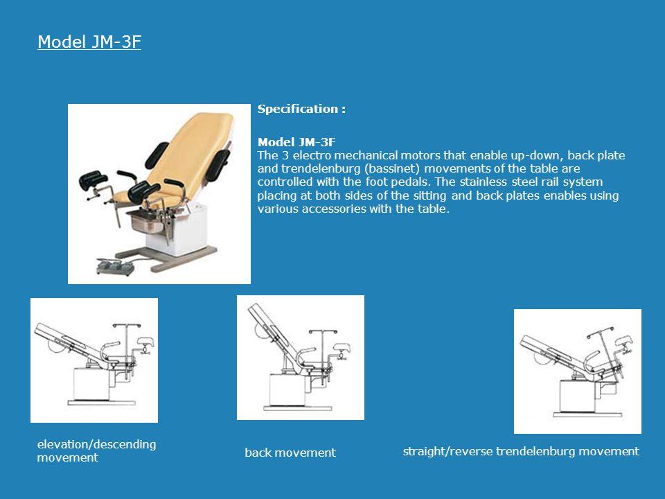 Model JM-3F Specification :