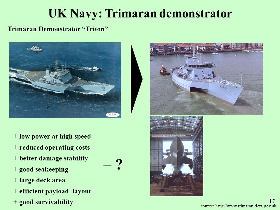 UK Navy: Trimaran demonstrator