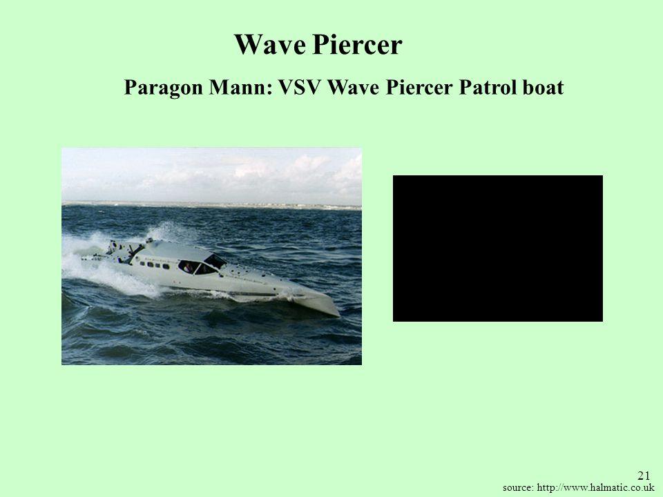 Paragon Mann: VSV Wave Piercer Patrol boat