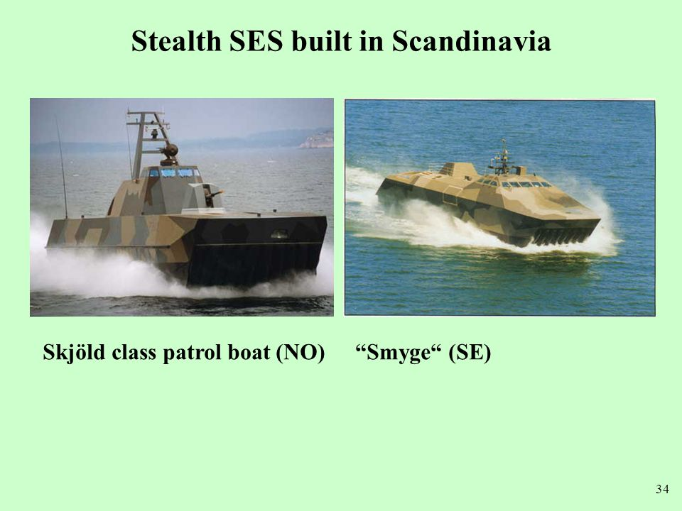 Stealth SES built in Scandinavia