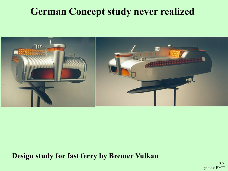 German Concept study never realized