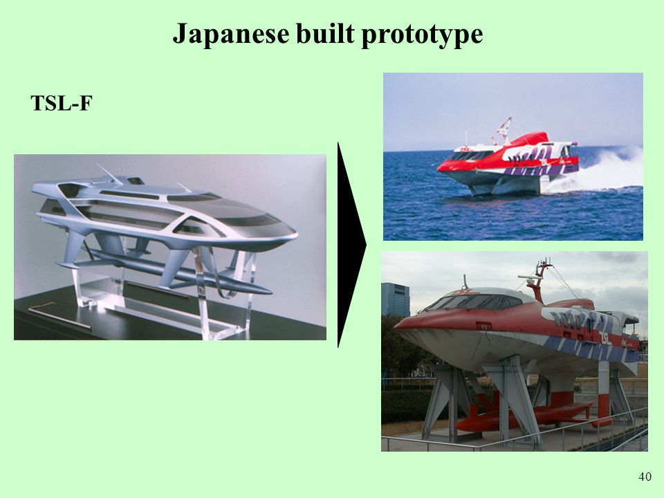 Japanese built prototype