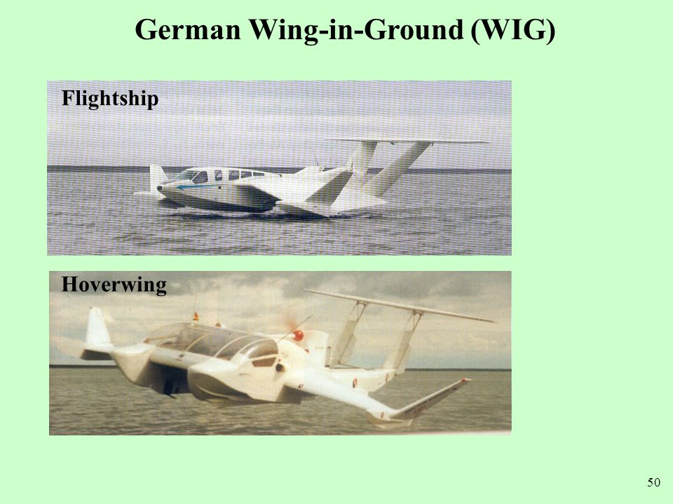German Wing-in-Ground (WIG)