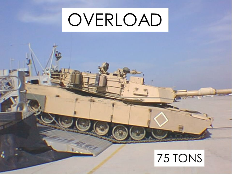 OVERLOAD 75 TONS