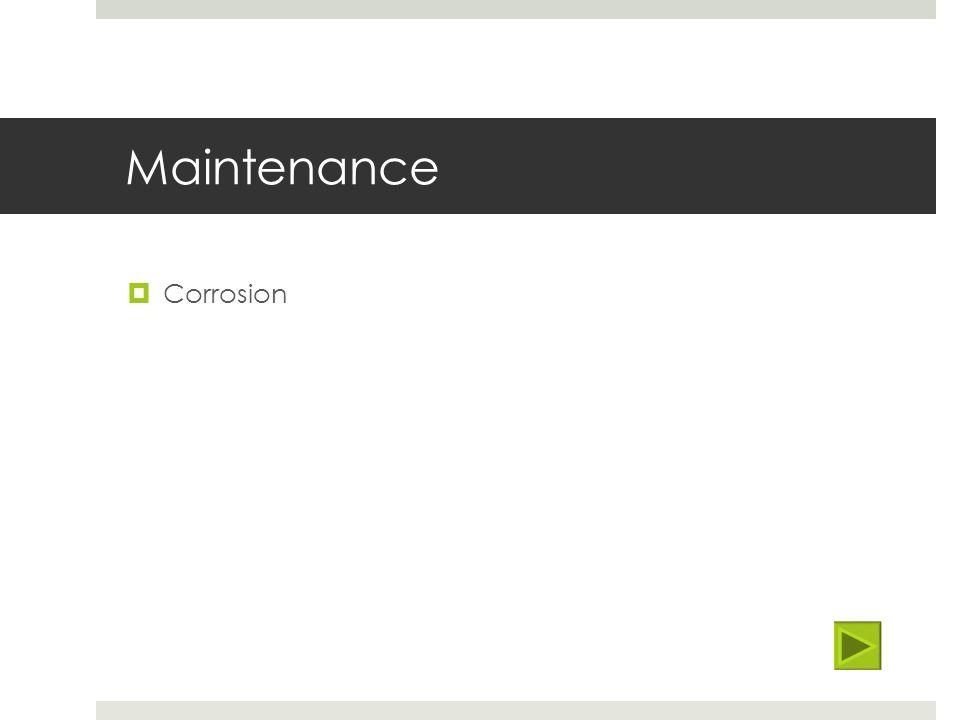 Maintenance Corrosion