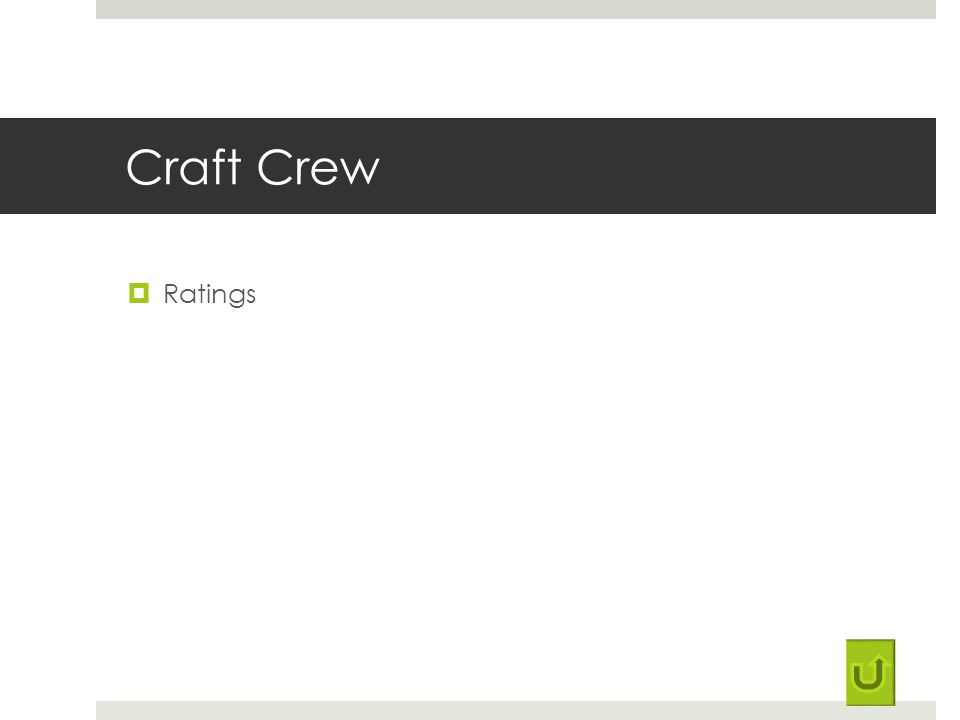 Craft Crew Ratings