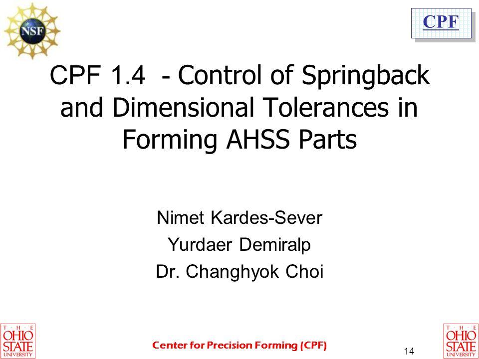 Nimet Kardes-Sever Yurdaer Demiralp Dr. Changhyok Choi